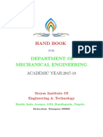 Department Hand Book