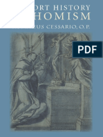 Romanus Cessario, Romanus Cessario O. P.-A Short History of Thomism  -Catholic University of America Press (2005).pdf