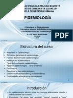 1 Epidemiologia, Historia, Funciones Epi 2017