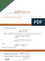 MATEMÁTICA III2
