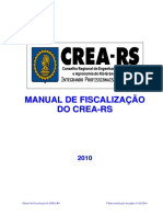 Manual de Fiscalizacao CREA