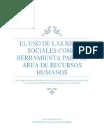 El Uso de Las Redes Sociales Como Herramienta Para Los Recursos Humanos