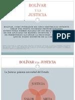 Bolivar y La Justicia