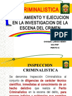 INSPECCION CRIMINALISTICA