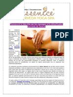 Les Massages Ayurvédiques Genève