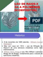 Difração de Raios x Aplicada a Polímeros (Nanocompósitos)