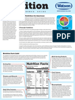 Nutrition - A Quick Guide
