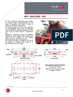 Equipment Data Sheet Bolster 300t