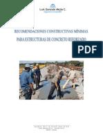 Recomendaciones mín para Estr de Concreto Reforzado  rev1.pdf