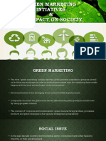 Green Marketing Intiatives