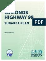 Edmonds Highway 99 Subarea Plan Draft - June 2017