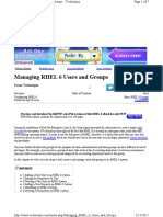 CH 21 - Managing RHEL 6 Users and Groups