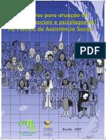 Cartilha CFESS Parametros as e PSI Na Politica