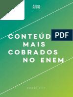 Infográfico Conteúdos Mais Cobrados 2017 Final