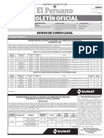 Diario Oficial El Peruano, Edición 9777. 03 de agosto de 2017