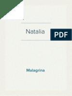 Resume Natalia Malagrina