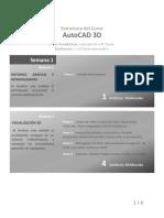 Estructura de Curso Autocad Civil 3d- Terrazas 3