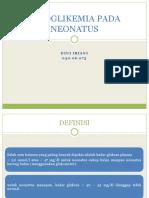 234164982 Hipoglikemia Pada Neonatus