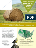 State of the Birds 2017 Report