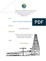 Arenos y Compuestos Hibridos Del Petróleo