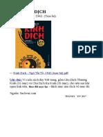 Kinh Dịch - Ngô Tất Tố, 1943 (trọn bộ)