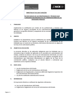 Directiva 013-2017-OSCE-CD Certificacion de Profesionales OEC