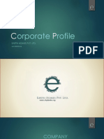 Corporate Presentation Profile Editable