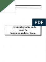 Deontologische Code voor lokale mandatarissen - Gemeente Koksijde