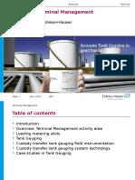 Oil & Gas Terminal Management