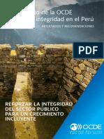 Peru Estudio Integridad Folleto