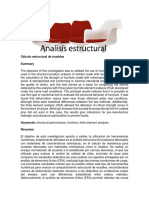 Cálculo Estructural de Muebles