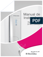 Manual de Instruções Electrolux