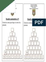 DESAFIO MATEMÁTICO N°9 TERCERO BASICO
