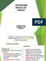 1clase Definiciones Bc3a1sicas de Cirugia