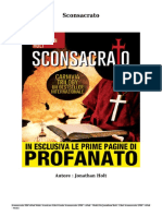 Scaricare Libri Sconsacrato Gratis (PDF - EPub - Mobi) Di Jonathan Holt