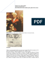 JOSE CADALSO CORONEL DE CABALLERIA