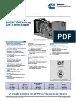 QSX15 Series 60 Hz
