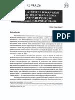 SOUTO, Cíntia Vieira - PEx de Médici