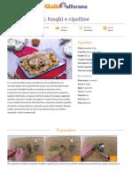Ricetta Pollo Con Patate Funghi e Cipolline
