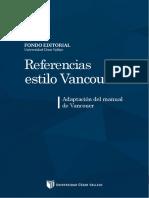 Manual Vancouver para desarrollar trabajos de investigación