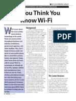 WiFi Summary