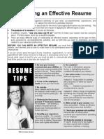 Effective Resume.pdf