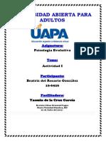 TAREA I PSICOLOGIA EVOLUTIVA.docx