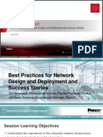 Rockwell Autoamtion TechED 2017 - NS26 - Panduit Best Practices for Network Design and Deployment and Success Stories.pdf