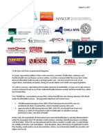 CSR Letter to New York State Congressional Delegation