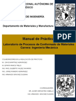Manual de Lab. de Procesos de Conformado de Materiales