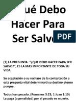 Qué Debo Hacer Para Ser Salvo.pdf