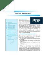 Units and Measurement Ncert