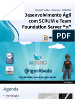 Desenvolvimento Ágil com SCRUM e Team Foundation Server 11