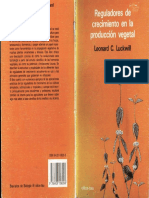 Reguladores de Creciemiento en La Produccion Vegetal